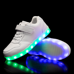 Image 3 - Size 25 37 Children Glowing Sneakers with Light Led Shoes Kids Luminous Sneakers for Boys Girls Sneakers with Luminous Sole