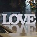 1 шт./Лот, свадебное украшение «Love» с белыми буквами, размеры 31x9x1 см