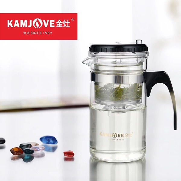 [GRANDNESS] TP-120 Kamjove Art Tea Cup * Mug & Tea Pot 200ml glass teapot simple office cup Piao Yi Bei glass teapots kamjove
