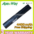 Apexway 6 células 4400 mah bateria para hp probook 4331 s 4440 s 4441 s 4446 s 4436 s 4435 s 4431 s 4430 s hstnn-i02c hstnn-ob2t