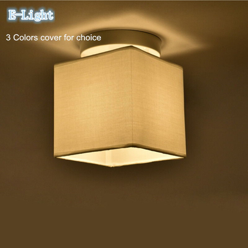 Square Lamp Shades Modern Square Lamp Shade Ivory Large