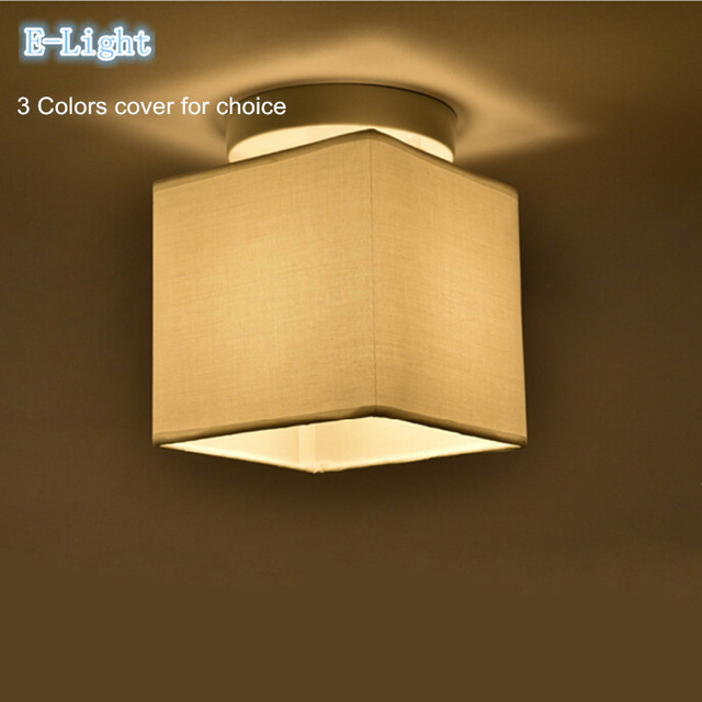 Beautiful 3colors Sackcloth/linen/gunny Cloth Lamp Cove Fabric Lamp Shade Wall Or  Ceiling Light
