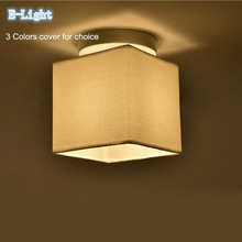 3colors Sackcloth Linen Gunny Cloth Lamp Cove Fabric Shade Wall Or Ceiling Light