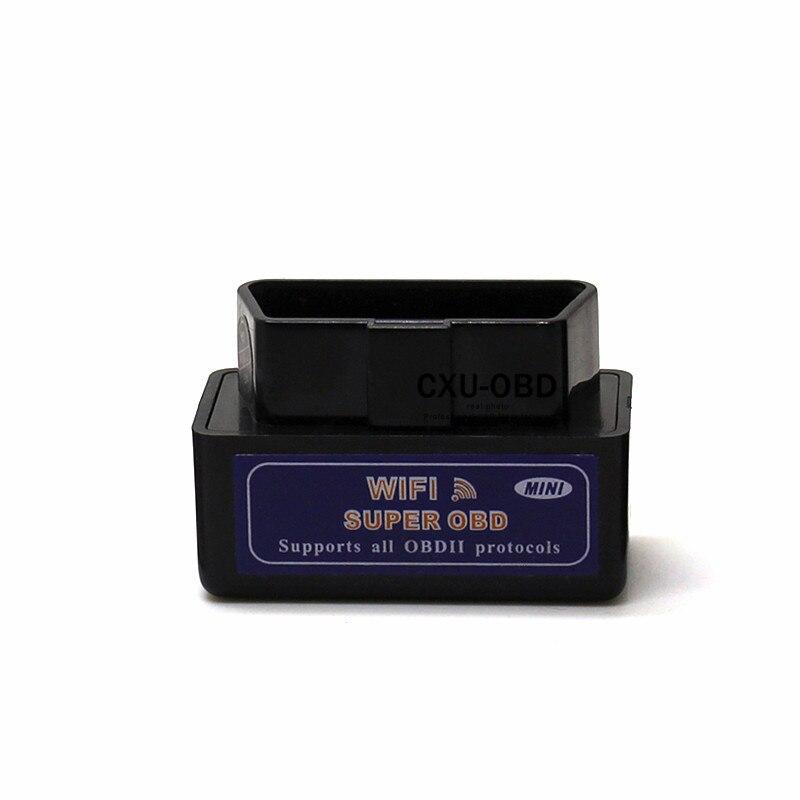 SUPER MINI ELM327 WiFi OBD OBD2 EOBD V1 5 Car Diagnostic Scanner Tool For  PC iPhone iPad Android on Aliexpress com | Alibaba Group