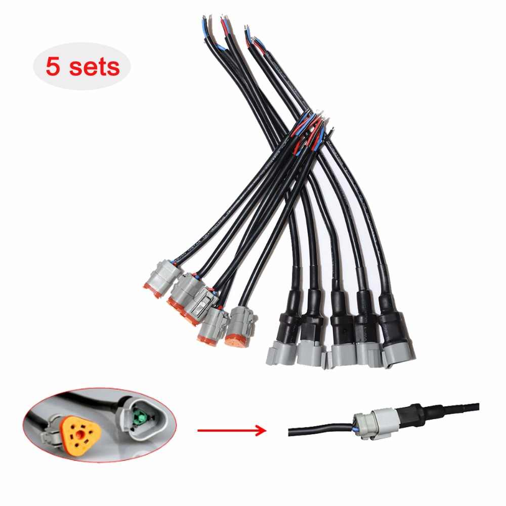 hight resolution of detail feedback questions about 5 sets deutsch dt 3 pins connector auto wire harness connector 3 pin connector front panel mount