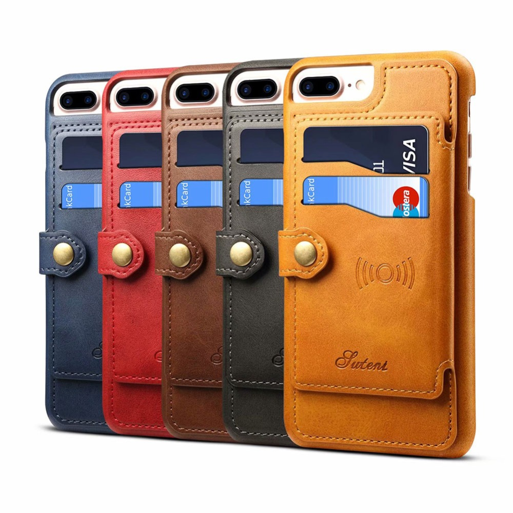 YeeSite for Apple iPhone X 8 7 6 8Plus 7Plus 6Plus Luxury PU Leather Flip Wallet Case Mobile Phone Back Cover Stand Holder