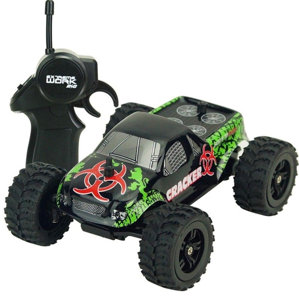 1:32 RC coche de carreras juguetes a escala completa 4CH 2WD 2,4 GHz Mini todoterreno coches camión Vehículo de alta velocidad 20 km/h juguete remoto para niños regalo