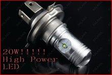 1 пара 20 Вт США CRE чипсет Высокой/Низкой высокой мощности светодиодные лампы H4 противотуманные фары/свет сид Наивысшей мощности FREESHIPPING