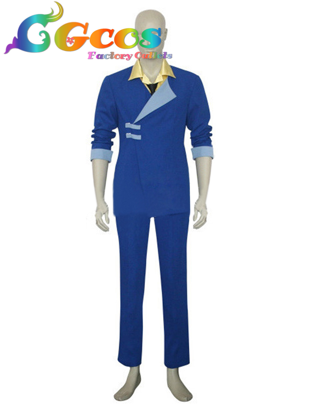 CGCOS Free Shipping Cosplay Costume Cowboy Bebop Spike Spiegel Uniform Retail/Wholesale Halloween Christmas Party Any Size