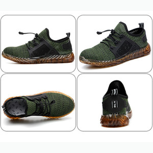 Image 3 - Dropshipping Indestructible Ryder Shoes Men And Women Steel Toe Air Safety Boots Puncture Proof Work Sneakers Breathable Shoes