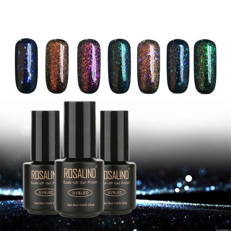 Galaxy Gel Nail Polish 73: Enchanted Galaxy Off UV LED Gel Nail Polish Semi Permanent