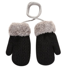 Одежда для малышей, для мальчиков и девочек на открытом воздухе, изготовленные по лоскутной технологии, Утепленная одежда Варежки перчатки