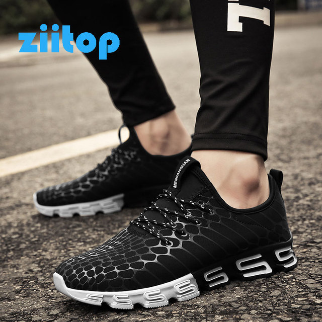 New Men's Runing Shoes Non-slip Lace-up Outdoor Sports Shoes For Male Sneakers For Men Basket Homme New Design sole Trainers Men