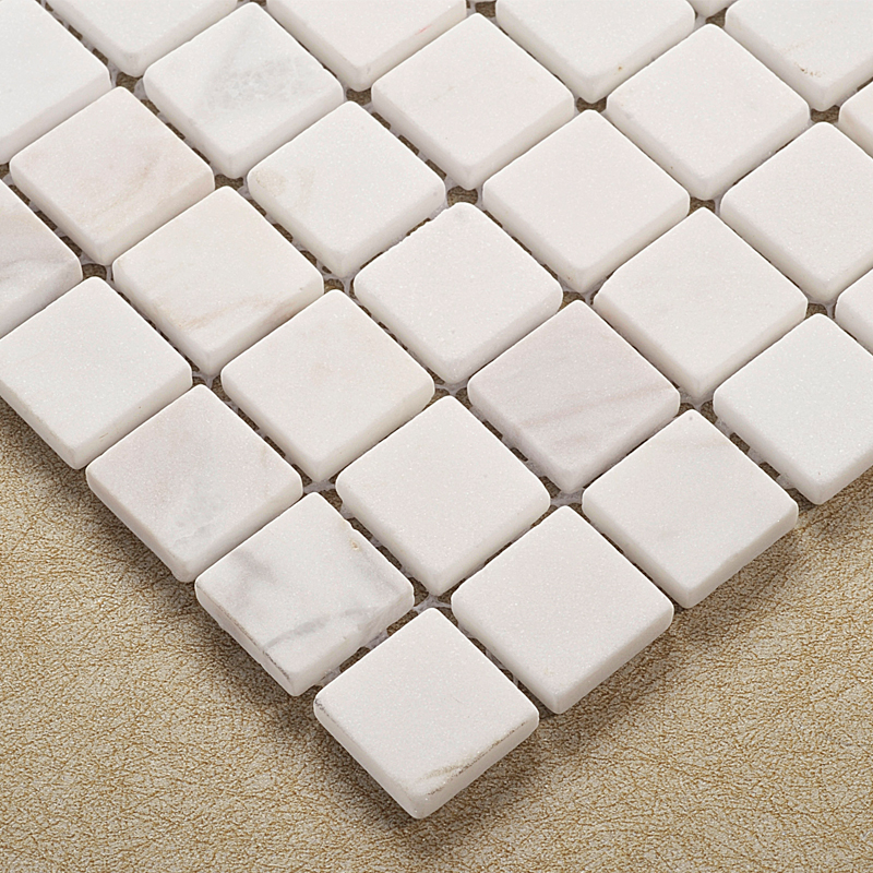 white natural stone mosaic tiles hmgm2025 for kitchen backsplash tile bathroom shower hallway wall mosaic free shipping