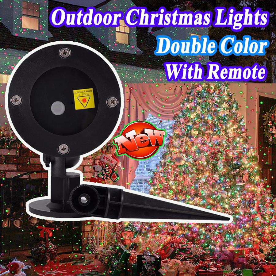Moving Laser Projector LED Lamp 2018 Christmas Outdoor IP65 Starry Party Garden Lights Remote Control Decorative Lawn Lamp недорого