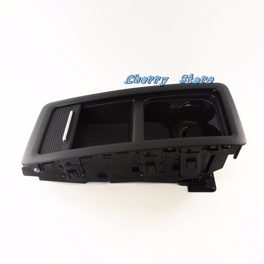 OEM Black 4 seats Rear Seat Bench Central Storage Box Tray For VW CC 09- 15 PASSAT CC 2009-2012 3C8 885 977 C  3C8885977c for ktm 390 duke motorcycle leather pillon passenger rear seat black color
