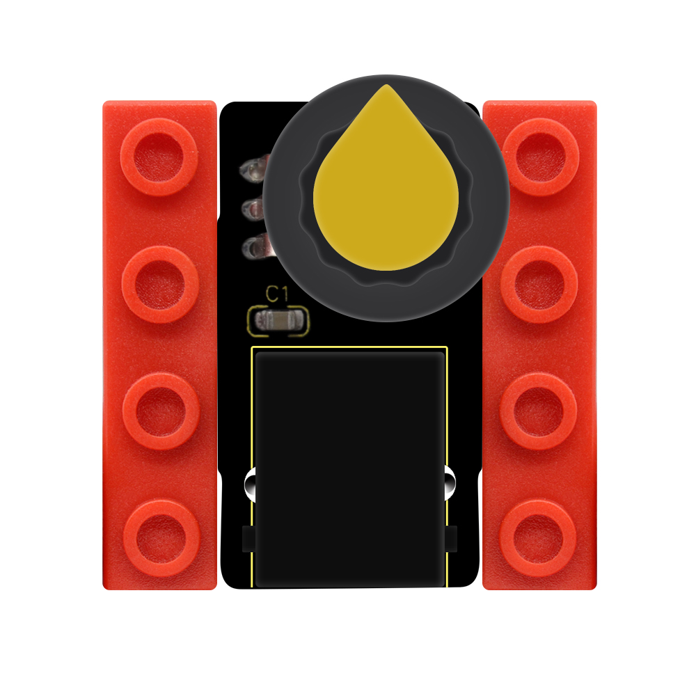 Kidsbits Blocks Coding Adjustable Potentiometer Module For Arduino STEAM EDU (Black And Eco Friendly)