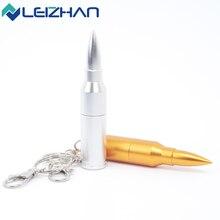 Горячие Продажи USB-Stick Пуля USB Flash Drive Pen Drive Pendrive 2.0 64 г 32 г 16 г 8 г 4 г Компьютер Памяти USB Диск с брелок