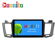 Dasaita 10.2″ Android 7.1 Car GPS Player Navi for Toyota RAV4 2014-2016 with 2G+16G Quad Core Stereo Radio Multimedia No DVD 4G