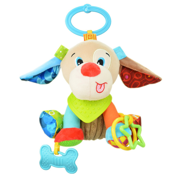 Crib Toys Learning : מוצר animal baby bell hand grasp educational toys infant