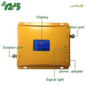 Image 4 - 2g 3g 4g wzmacniacz sygnału komórkowego Tir Band 900 1800 2100 mhz wzmacniacz sygnału komórkowego z wyświetlaczem LCD
