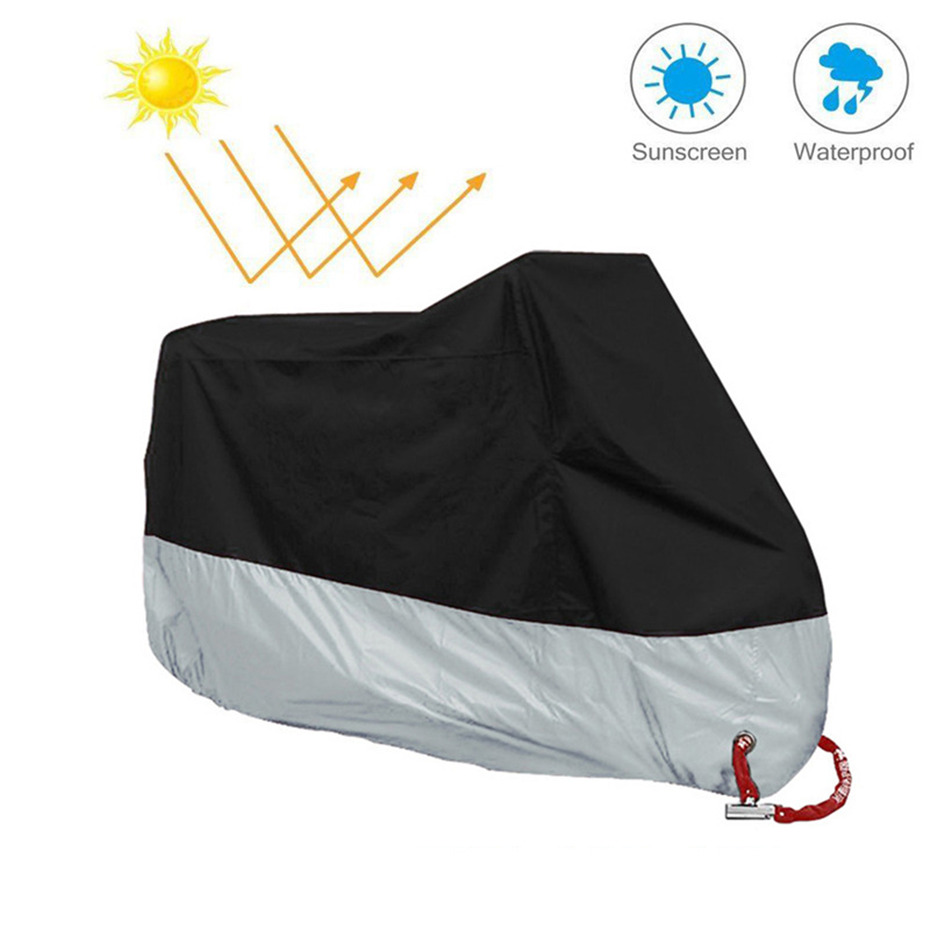 Motorcycle Cover Outdoor ATV Scooter Dustproof Waterproof Sun Motorbike Protective Car Cover Durable Rain Protector Coque (5)