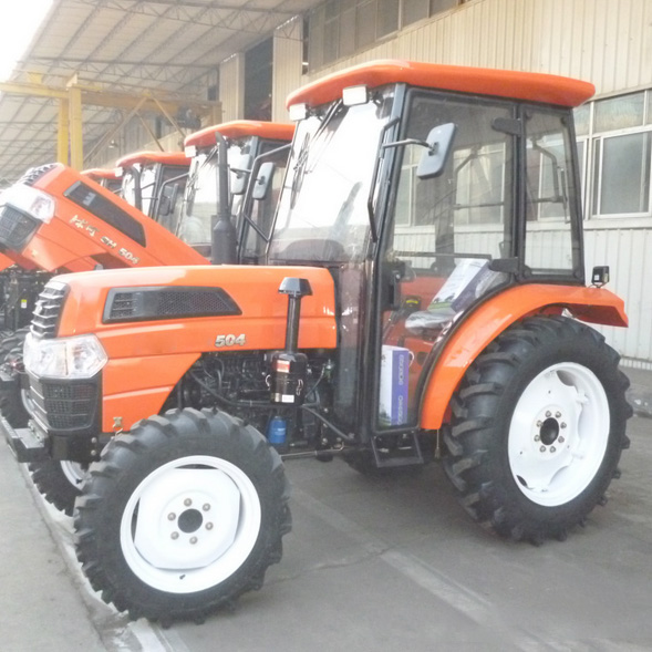 Large 4 Wheel Drive Tractors : Hp drive farm working machine large four wheel
