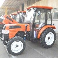 50 hp 4 Drive фермы Рабочая машина большой Четырехколесный трактор с кокпитом