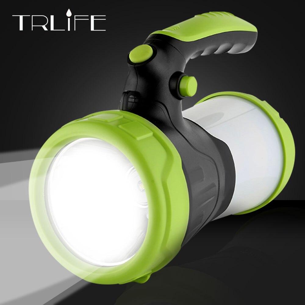 Высокая мощность встроенного 2*26650 6000 мАч светодио дный фонарик лампы факел портативный фонарь прожектор аккумуляторная водонепроницаемый ...