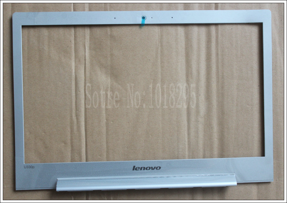 цены на NEW! FOR Lenovo Ideapad U330P LCD Front Bezel Trim cover SILVER LCD COVER CASE  touch