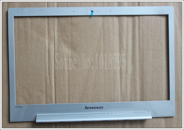 NEW! FOR Lenovo Ideapad U330P LCD Front Bezel Trim cover SILVER LCD COVER CASE  touch