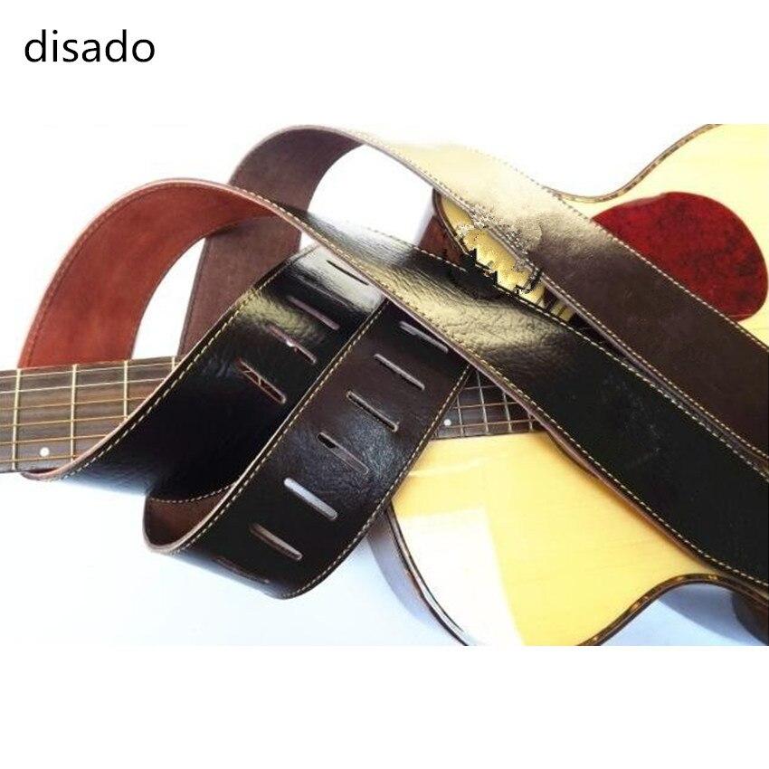 disado 2 pcs new acoustic bass electric guitar strap guitar parts soft leather corium guitar. Black Bedroom Furniture Sets. Home Design Ideas