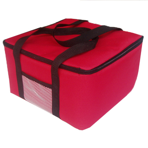 Image 1 - 12inch insulated pizza bag promotional Large thermal Cooler Bag Food Container 40x40x29cm