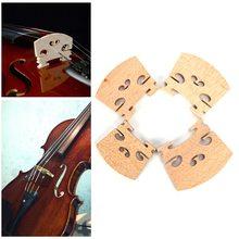 Музыкальный инструмент Скрипка мост деревянный фитинг 1 шт. держатель струн для скрипки 1/4 1/2 3/4 4/4 горячая распродажа