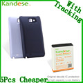 Kandese Расширенный Большой Емкости 7200 мАч Литиевая Аккумуляторная Батарея для телефона Samsung Galaxy NOTE N7000 I9220 с задней обложки