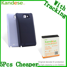 Kandese Extended Large Capacity 7200mAh Lithium Battery Replacement for phone Samsung Galaxy NOTE N7000 I9220 with
