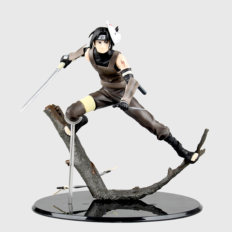 Huong Anime Figure 20 CM Naruto Uchiha Itachi PVC Action Figure Collectible Toy Brinquedos Model Christmas Gift anime naruto brinquedos action