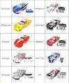 1/10 rc car body shell para 1:10 R/C coche de carreras 190mm henglong 2 unids/lote envío gratis