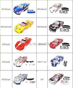 Image 1 - YUKALA 1/10 Rc Xe Cơ Thể Dùng Cho 1:10 R/C Đua Drift Xe 190Mm Heng Long 2 Cái/lốc