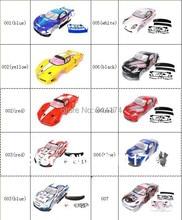 Yukala 1/10 rcカーボディシェル 1:10 r/cレーシングドリフト車 190 ミリメートルhenglong 2 ピース/ロット