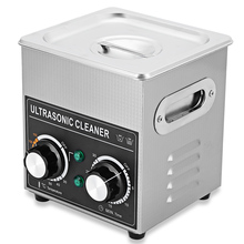 Portable Ultrasonic Cleaner 2L Cleaning Machine Ultrasonic Cleaner Bath with Heater Timer Cleaning Jewelry Glasses AC 220 - 240V