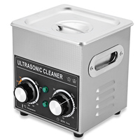 Portable Ultrasonic Cleaner 2L Cleaning Machine Ultrasonic Cleaner Bath with Heater Timer Cleaning Jewelry Glasses AC 220 240V