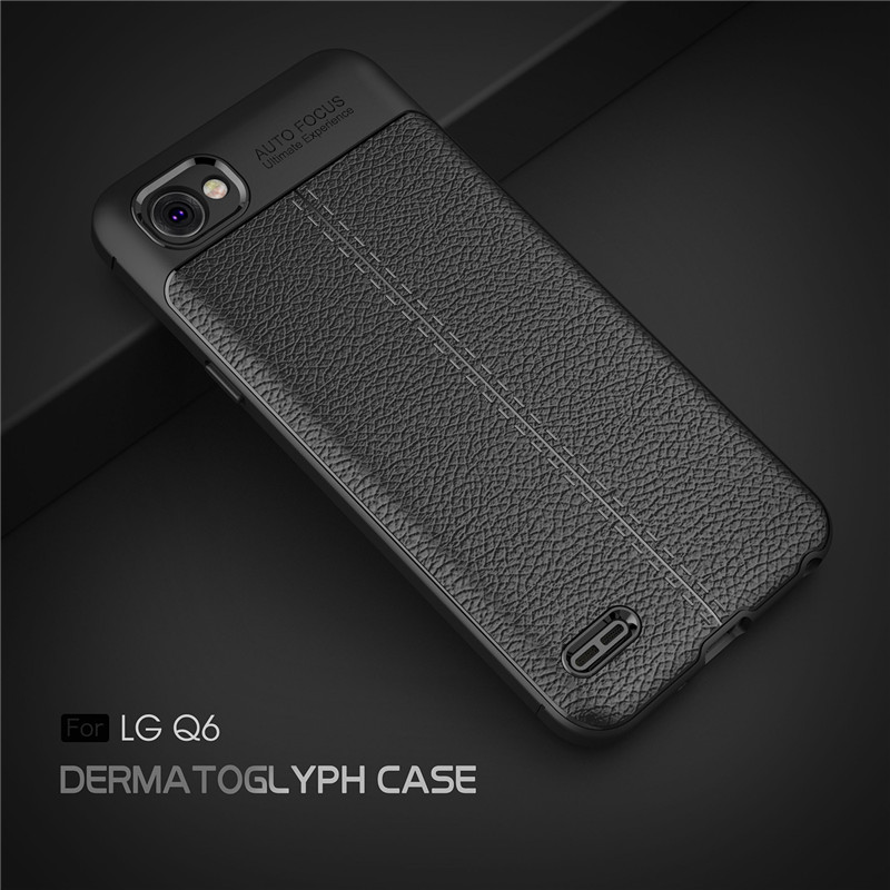 For LG Q6 Case LG Q6 Plus Back Shell TPU Phone Cover ShockProof Soft Silicone Case For LG Q6 Cover Mobile Phone Cases