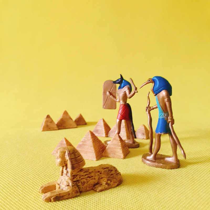 sale~1 pcs Egypt Luna/pyramid/doll house//miniatures/cute/fairy garden gnome/moss terrarium decor/table decor/figurine/statue