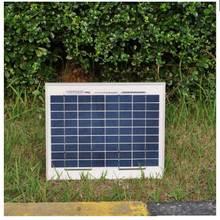 Free Shipping Portable Solar Power Panels 12v 10W 10 Pcs Solar Energy Module 100W Solar Battery Charger Price Solar Light Camp