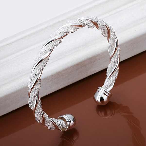 Màu bạc tinh tế sang trọng thời trang tuyệt đẹp Dây chuyền giọt Vòng tay tính khí Charm trang sức quà tặng sinh nhật B020