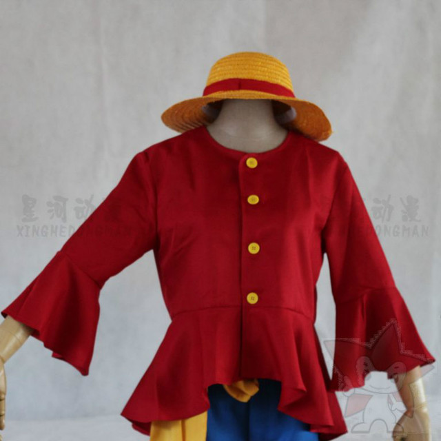 Anime One Piece cosplay kostüm Luffy 2nd generation anzug männer ...