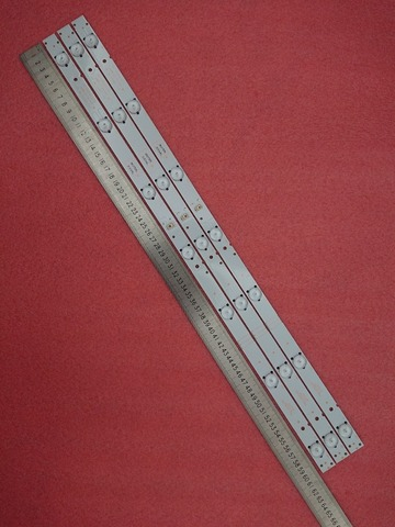 05-20024a-04a para Lc320dxj-sfa2 Novo Pces 607mm Led Backlight Strip 5800-w32001-3p00 32hx4003 15 * 7led