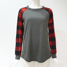 Fashion Plaid Patchwork Hoodies Women Casual Long Sleeve Sweatshirt Oversized Hoodie Tracksuit Thin 5XL