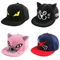 new trendy children child hip hop snapback hat novelty character eye design fitted boy girl brand baseball cap baby casquette